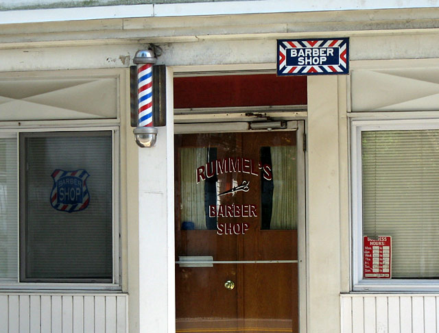 rummel's barber shop