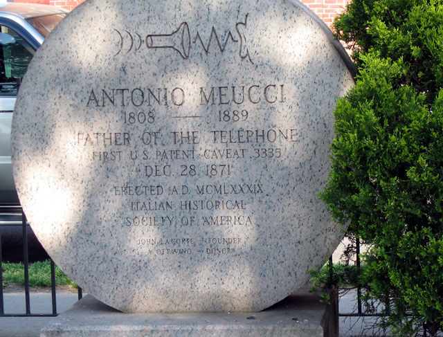 antonio meucci father of the telephone