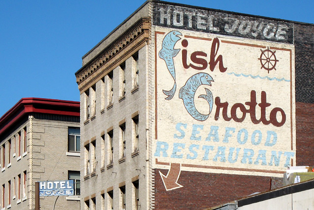 hotel joyce fish grotto seafood restaurant