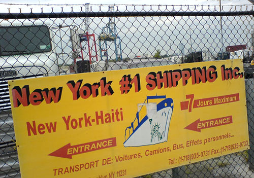 new york #1 shipping haiti